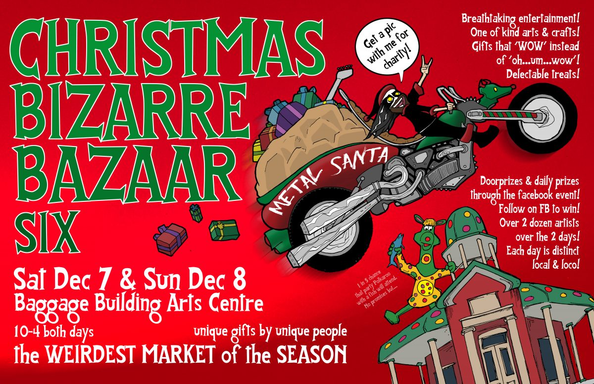 Poster for Christmas Bizarre Bazaar 6