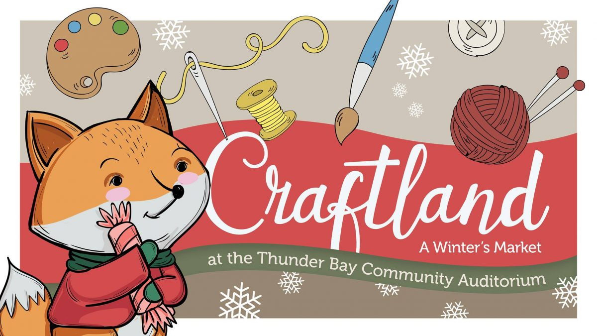 Poster for Craftland at the Community Auditorium 2019