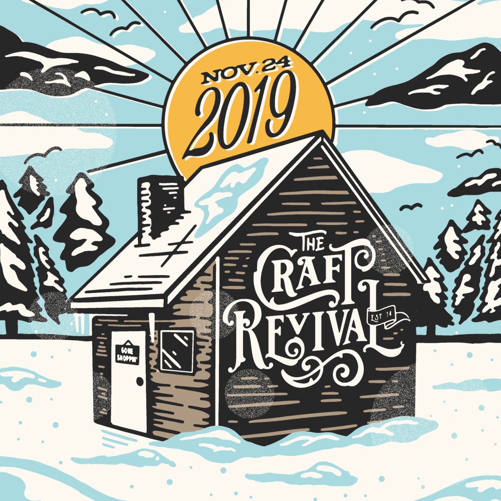 Poster for Craft Revival Holiday Edition 2019