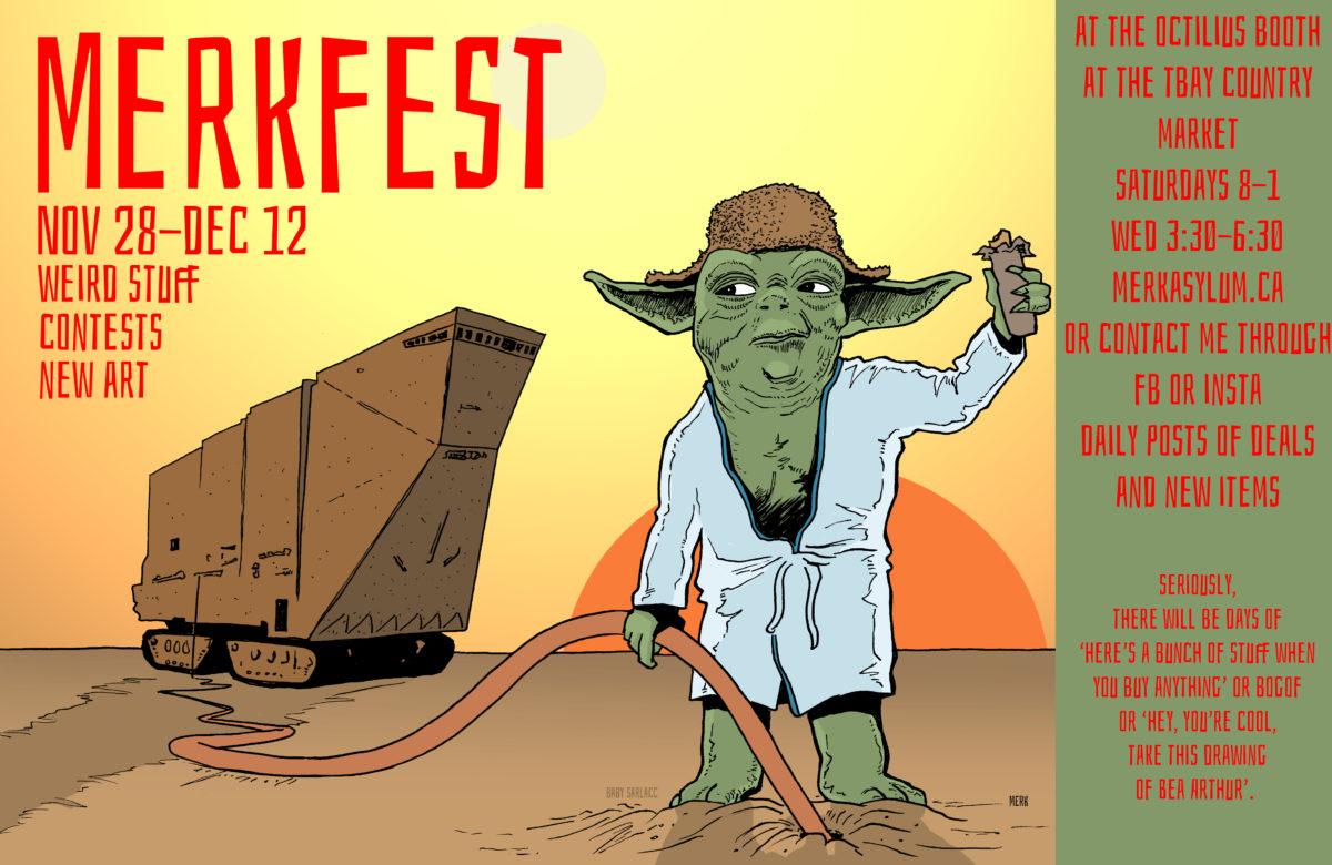Poster for MERRY MERKFEST 2020